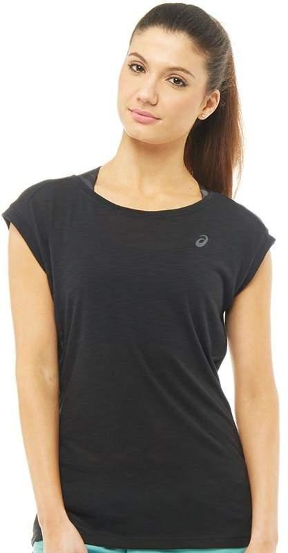 Damen Layering T-Shirt Schwarz