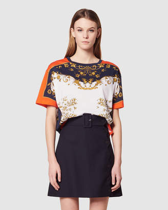 Sandro Thais Knitted T Shirt