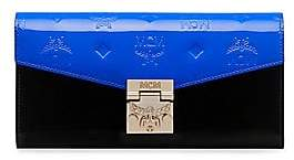 MCM Women's Patricia Monogrammed Leather Crossbody Wallet