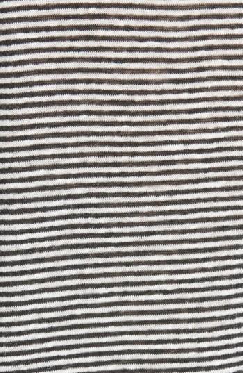 Women's Rag & Bone/jean Stripe Linen Blend Tee 2