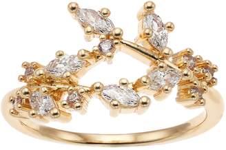 JLO by Jennifer Lopez Vintage Floral Stretch Ring