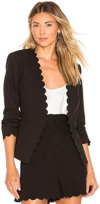 Rebecca Taylor Scallop Suit Jacket
