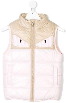 Fendi monster eye gilet