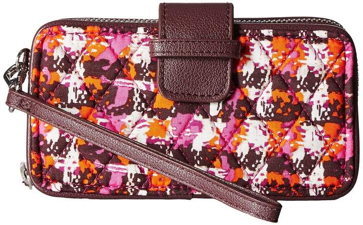 Vera Bradley RFID Smartphone Wristlet Wristlet Handbags - HOUNDSTOOTH TWEED - STYLE