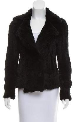 3.1 Phillip Lim Double-Breasted Fur Jacket
