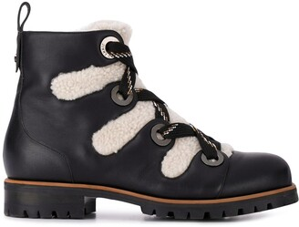 Jimmy Choo Bei shearling trimmed boots