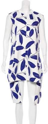 Marni Printed Sleeveless Midi Dress