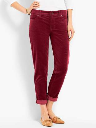 Talbots Flawless Cord Relaxed Ankle Boyfriend