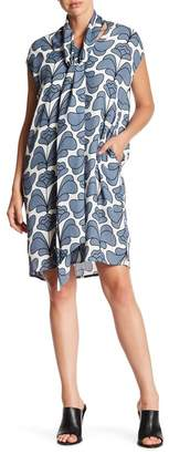 TOV Mod Printed Dress