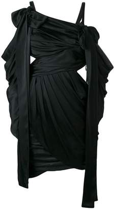 Zimmermann draped cut out short dress