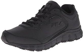 Fila Women's Memory Fresh Start Slip Resistant Work Shoe $75 thestylecure.com