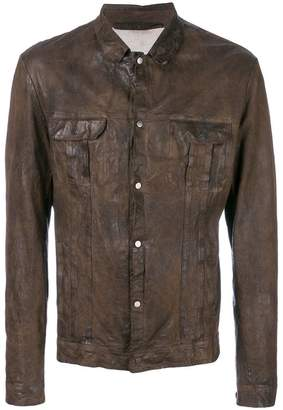 Salvatore Santoro shirt style leather jacket
