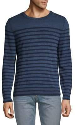 Zadig & Voltaire Striped Cotton Sweater