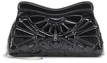 Miu MiuMiu Miu Patent leather shoulder bag