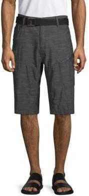 ProjekRaw Space Dye Belted Shorts