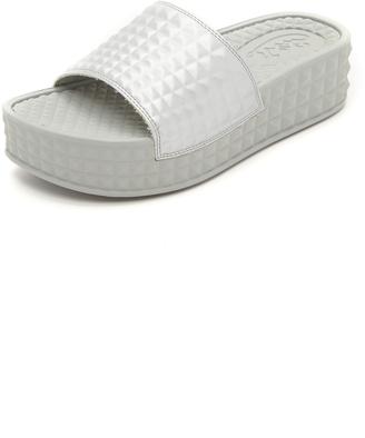 Ash Scream Slide Sandals $80 thestylecure.com