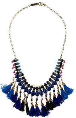 Isabel Marant Quartzite & Crystal Collar Necklace