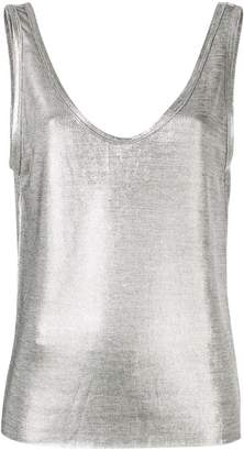 550df02c3977e2 Metallic Tank Top - ShopStyle