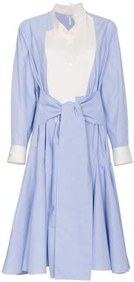 Loewe Cotton Poplin Shirt Dress
