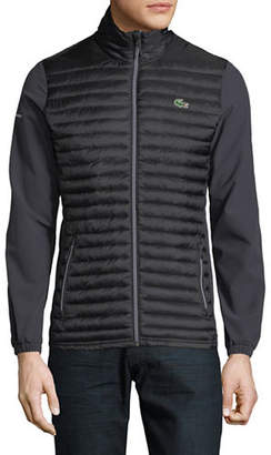 Lacoste Quilted Ripstop Jacket