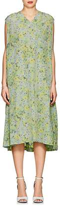 08sircus Women's Floral Crepe Shift Dress