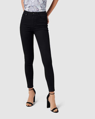 Cleo Petite High Rise Ankle Grazer Jeans