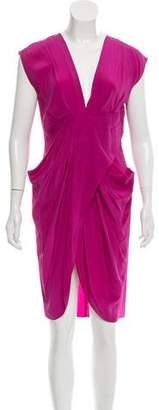 Miguelina Kelila Silk Dress