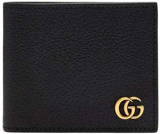 Gucci GG Marmont grained-leather bi-fold wallet