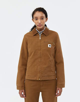 Carhartt Wip Detroit Jacket in Hamilton Brown