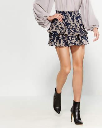 Ramy Brook Bonnie Silk Mini Skirt