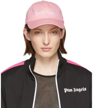 Palm Angels Pink Classic Logo Cap
