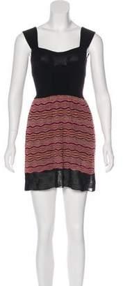 Missoni Geometric Print A-Line Dress
