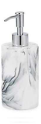Kassatex Arabesco Lotion Dispenser - White/Black