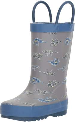 Osh Kosh Boys' Dino Rubber Rainboot Rain Boot