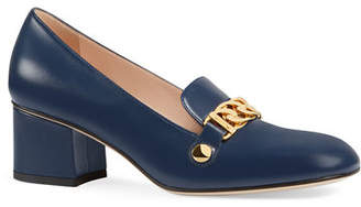 Gucci Sylvie 55mm Leather Loafer
