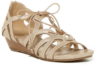 Kenneth Cole Reaction Great Joy Wedge Sandal $59 thestylecure.com