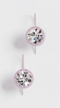 Marc Jacobs Scalloped Stud Earrings