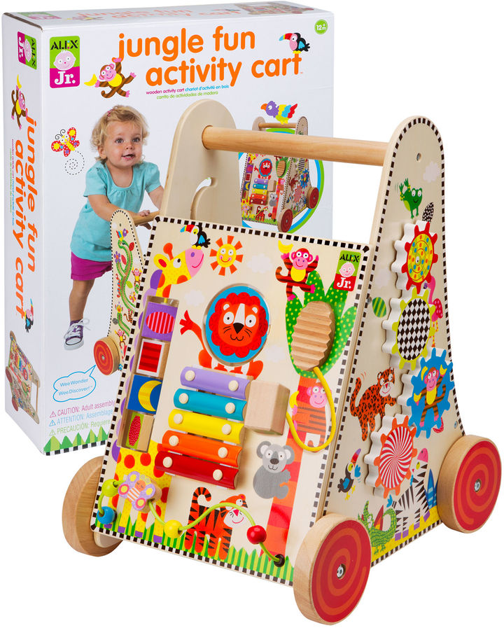 Alex ALEX TOYS ALEX Jr. Jungle Fun Activity Cart