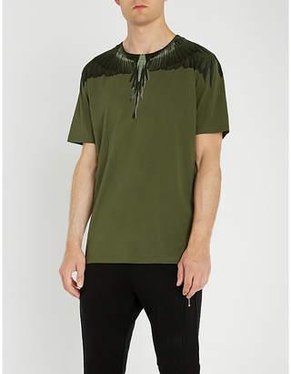 Marcelo Burlon County of Milan Wing-print cotton-jersey T-shirt