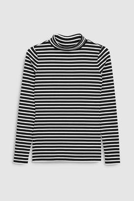 Black And White Striped Long Sleeved Top - ShopStyle UK 0a51fe482