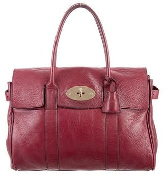 Mulberry Leather Bayswater Bag $595 thestylecure.com
