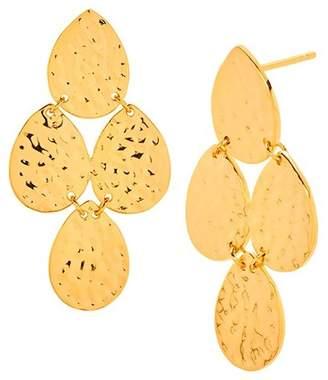 Gorjana Rae Tiered Teardrop Earrings