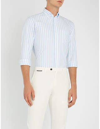 Drakes Bengal striped regular-fit cotton shirt