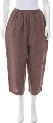 eskandar Cropped High-Rise Pants