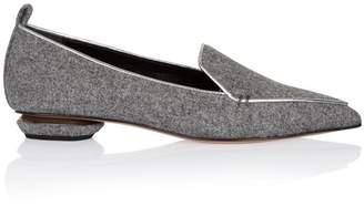 Nicholas Kirkwood Beya Loafer In Grey Flannel