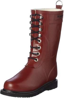 Ilse Jacobsen Womens Rub15 Brik Red Rubber Boots