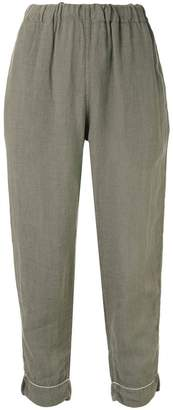 Bassike cropped trousers