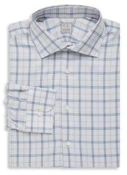 Ike Behar Plaid Cotton Button-Down Shirt