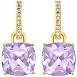 Kiki McDonough Classic 18k Gold Detachable Drop Earrings