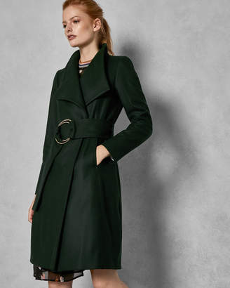 Ted Baker RAYAY Belted high neck wool coat
